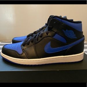 "JORDAN 1 MID ""ROYAL"" **Sz 10.5**"